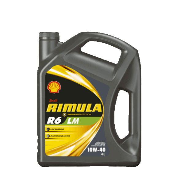 Rimula R6 LM 10w40 Engine Oil – 4Ltr