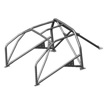OMP Peugeot 206 6 Point Bolt In Roll Cage