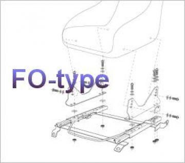 Bride Nissan 180SX RPS13 Type-FO Seat Rail Subframe
