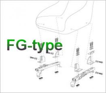 Bride Mazda Roadster NCEC Type-FG Seat Rail Set