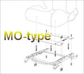 Bride Nissan 180SX RS13 Type-MO Seat Rail Subframe