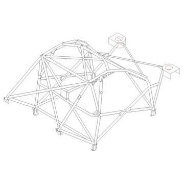 Custom Cages – Subaru Impreza GDB
