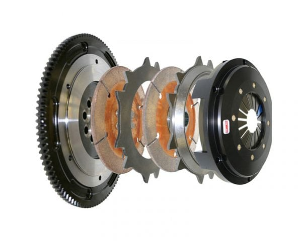 Competition Clutch Mitsubishi Evo 1-3 / FTO (4G63T / 6A12) 184MM Rigid Twin Disk (10.03KGs) 7 Bolt AWD