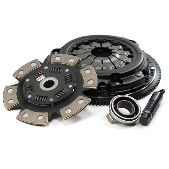 Competition Clutch Stage 4 1620 Strip Series Clutch Kit – 6 Pad Ceramic Up to 575lbs Torque Including Flywheel