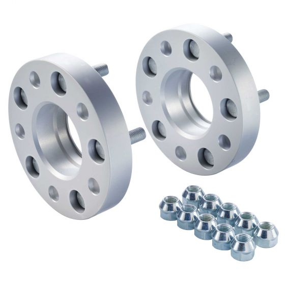 Eibach Pair of 25mm Pro-Spacer Wheel Spacers (Kit) – 5×105 PCD, System 4, 56.5mm Centre Bore, M12x1,5 Thread