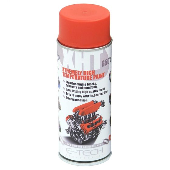 E-Tech Engineering XHT Xtremely High Temperature Paint – Red, Red
