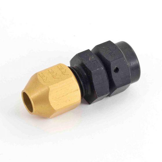 Krontec Straight Fitting For Hardline Tube – M14 x 1.5 Thread For 10mm OD Tube