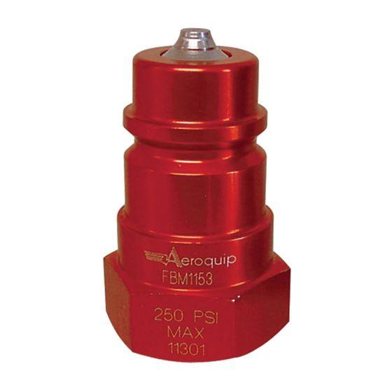 "Aeroquip Radiator/Cooling Refill Coupling – 1/2"" NPTF Female Steel"