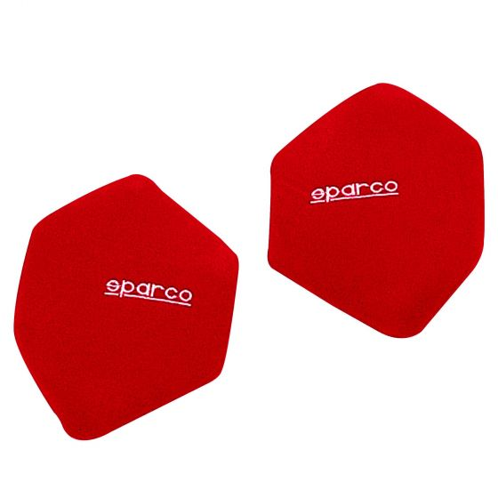 Sparco Side Backrest Cushions – Red (Pair)