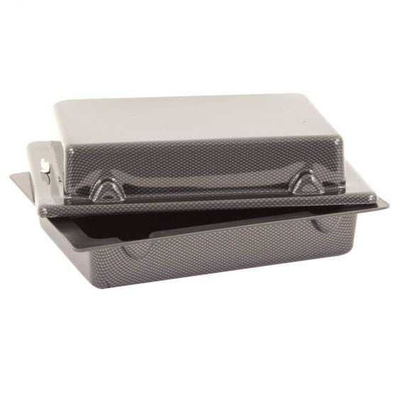 X-Sport Red Top 30 Lay Flat Battery Box – Carbon Look