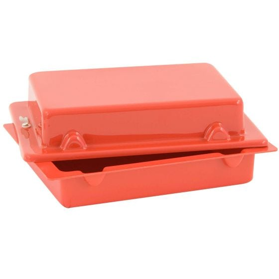 X-Sport Red Top 30 Lay Flat Battery Box – Red