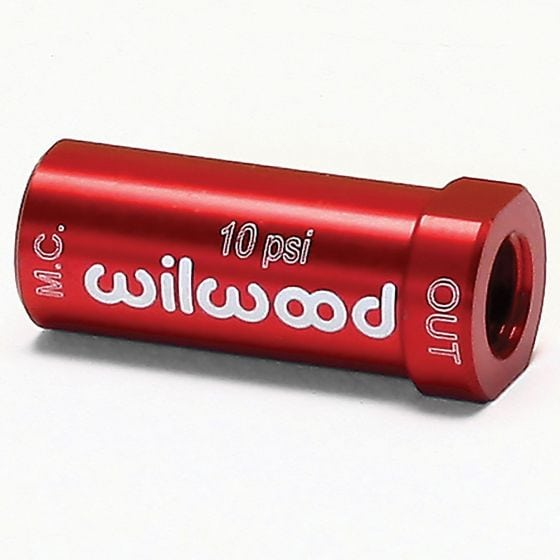 Wilwood Residual Pressure Valve – 10 psi Red