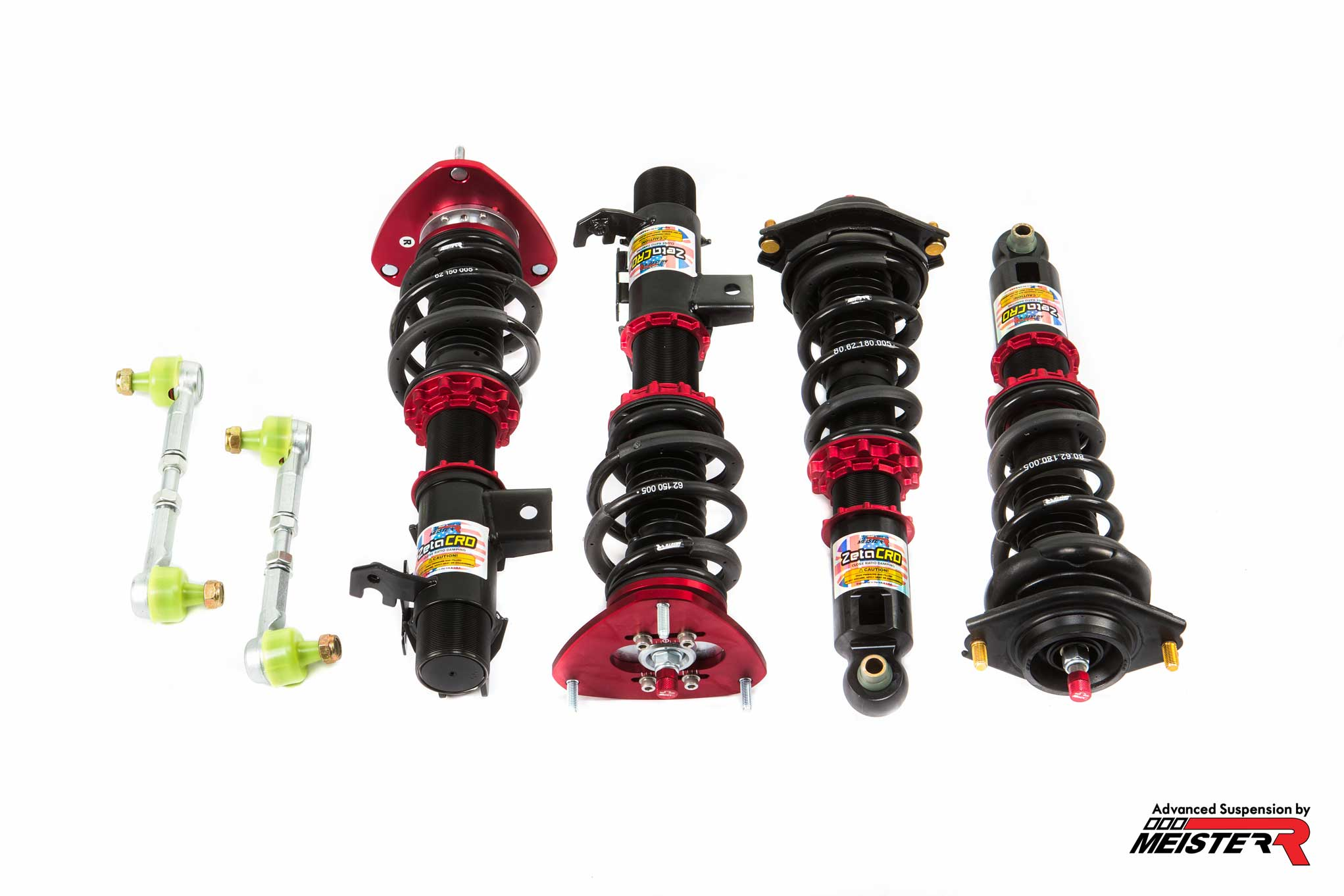 MeisterR ZetaCRD Coilovers for Subaru on BRZ (ZC6) 2012 ON