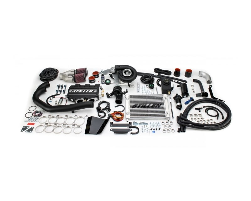 STILLEN Black Supercharger System Nissan 370Z Nismo 09-11