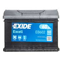 Exide Excell Car Battery 075