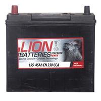 Lion Car Battery – 155