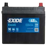Exide Excell Car Battery 158