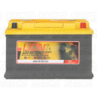 Lion 115 AGM Car Battery