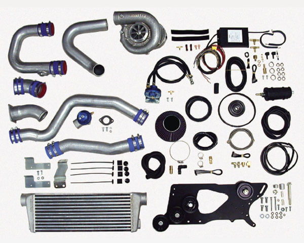 Vortech V-3 SCi Satin Supercharger System w/ Charge Cooler Nissan 350Z 03-04