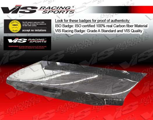 VIS Racing Carbon Fiber OEM Trunk Lid Mazda Miata 90-98