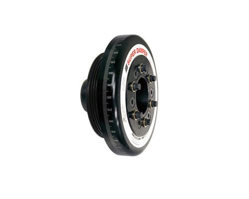 ATI Racing 7.074 Inch OD Aluminum Race Super Damper Honda Civic D13 88-02