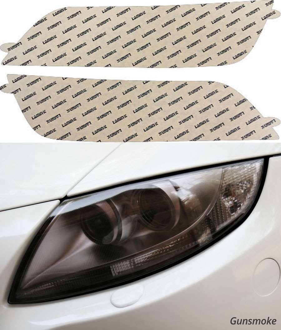 BMW Z3 96-02 Gunsmoke Headlight Covers Lamin-X Model #B505G