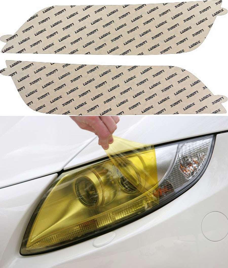 BMW Z3 96-02 Yellow Headlight Covers Lamin-X Model #B505Y