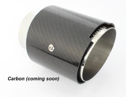 Remark Catback Exhaust with Carbon Tip Cover Mazda MX-5 ND Automatic 15-19