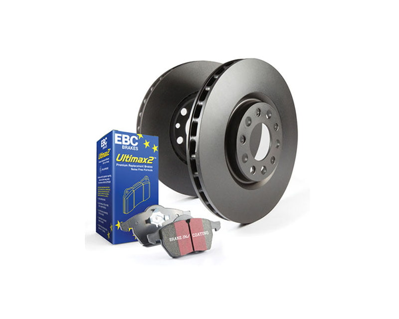EBC Brakes S20K Kit Front/REAR Disc Brake Pad and Rotor Kit UD394+RK979X+UD396+RK1009X BMW Front