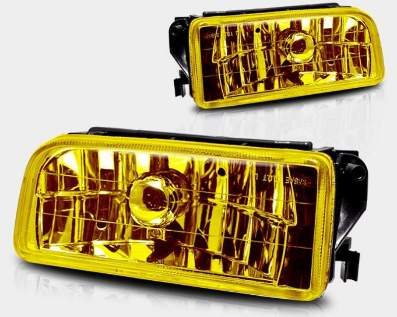Winjet Yellow OEM Style Fog Lights BMW E36 M3 92-99