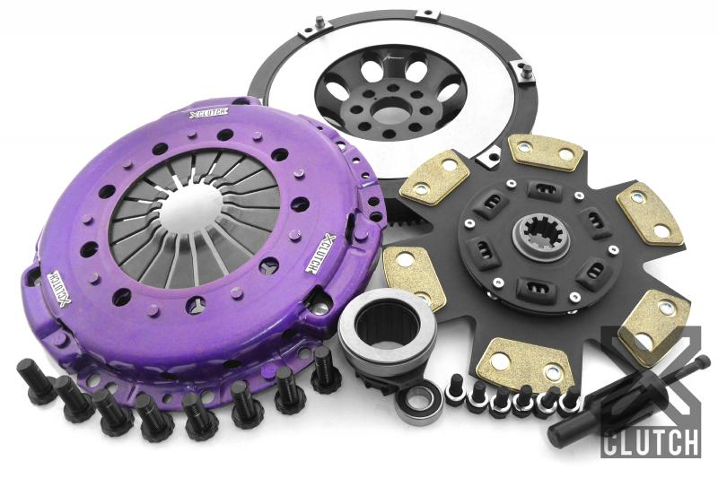 XClutch Clutch Kit with Chromoly Flywheel Stage 2 Sprung Ceramic Clutch Disc BMW
