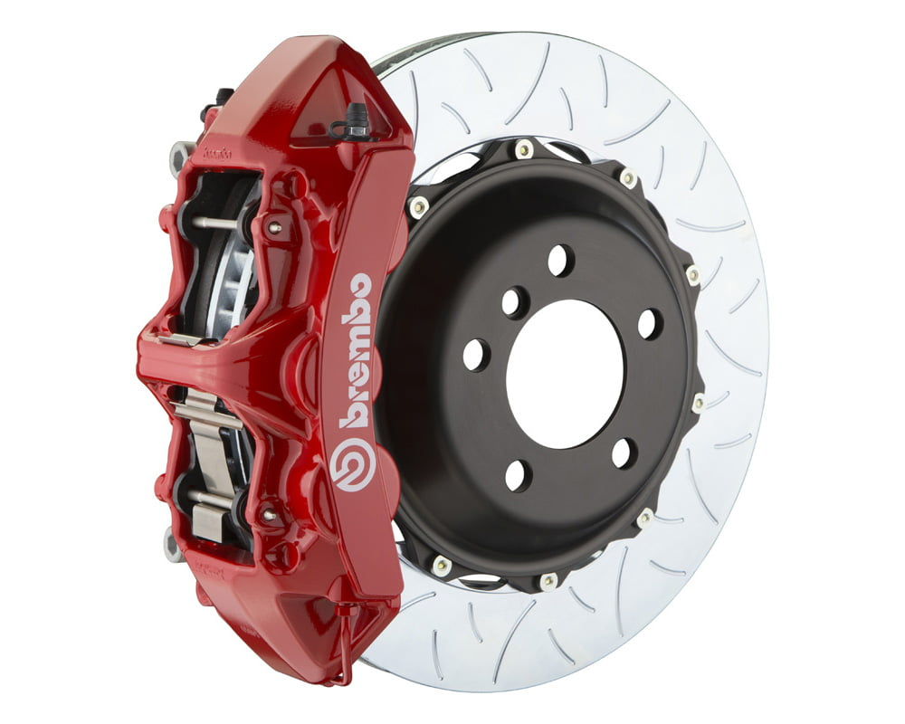 Brembo GT 355×32 2-Piece 6 Piston Red Slotted Type-3 Front Big Brake Kit