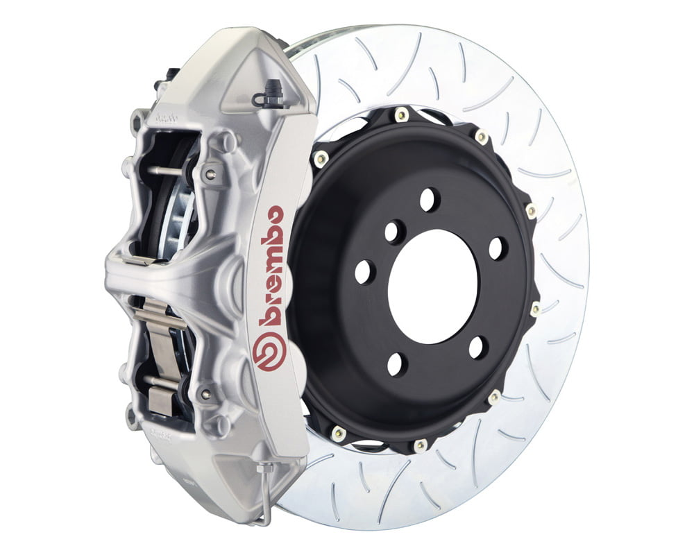 Brembo GT 355×32 2-Piece 6 Piston Silver Slotted Type-3 Front Big Brake Kit