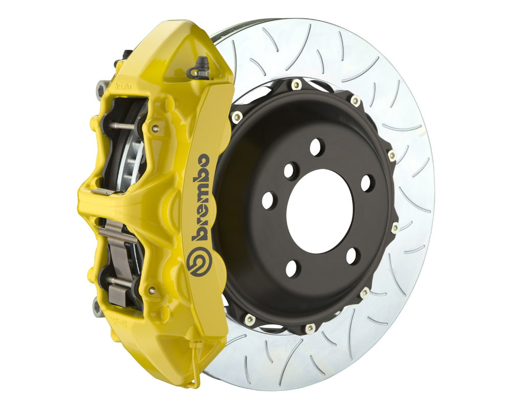 Brembo GT 355×32 2-Piece 6 Piston Yellow Slotted Type-3 Front Big Brake Kit