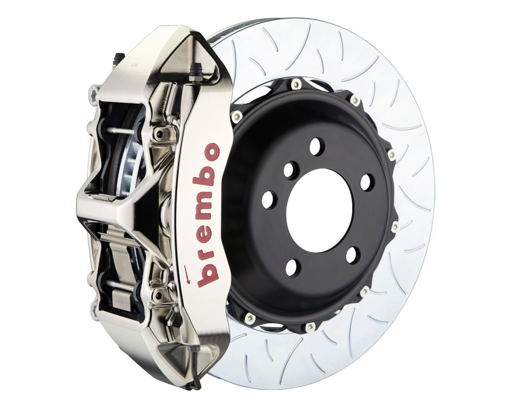 Brembo GT-R 355×32 2-Piece 6 Piston Nickel Plated Slotted Type-3 Front Big Brake Kit