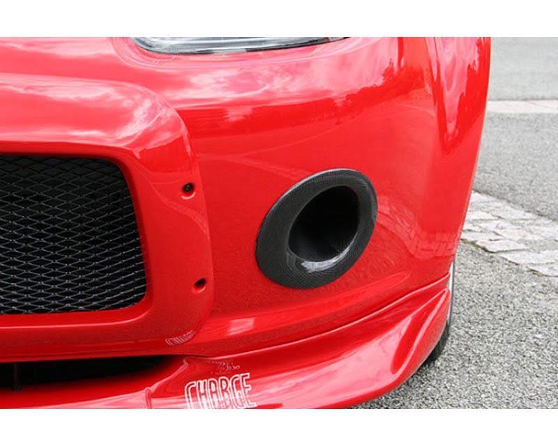 Charge Speed Brake Ducts (Japanese FRP) Mazda Miata 06-10