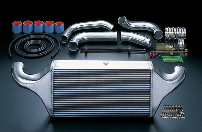 HKS Intercooler Kit V-Mount Core Mazda RX-7 13B 93-95