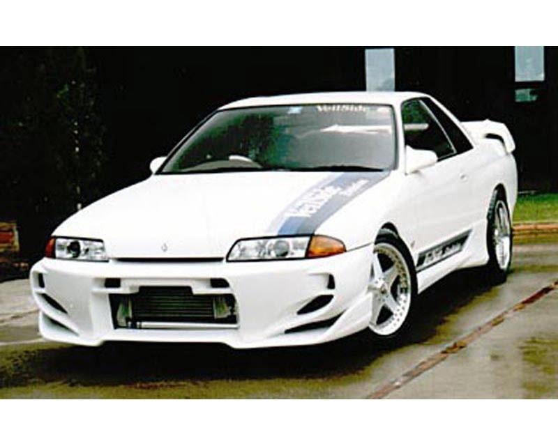 VeilSide 1989-1994 Nissan Skyline GTS HCR32 JDM C-I Model Front Bumper Spoiler (FRP)