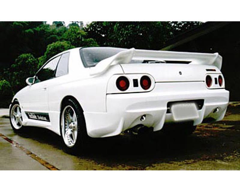 VeilSide 1989-1994 Nissan Skyline GTS HCR32 JDM C-I Model Rear Bumper Spoiler (FRP)