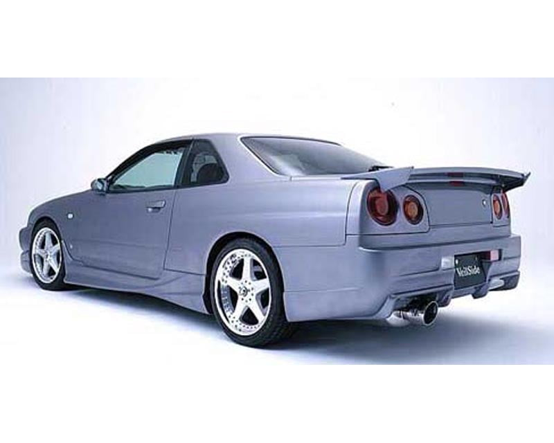 VeilSide 1999-2002 Nissan Skyline GT-S JDM ER34 C-I Model Rear Wing (DRAG MODEL) (FRP)