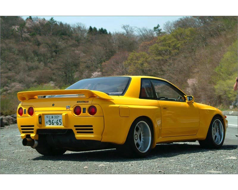 VeilSide 1989-1994 Nissan Skyline GTR JDM BNR32 E-III Model Complete Kit (FRP) Front 40mm; Rear 100mm each side