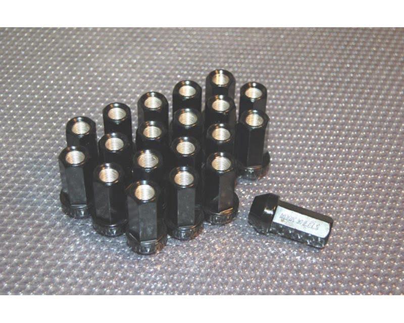 Work Wheels RS-Z M12x1.25 Black Lug Nuts