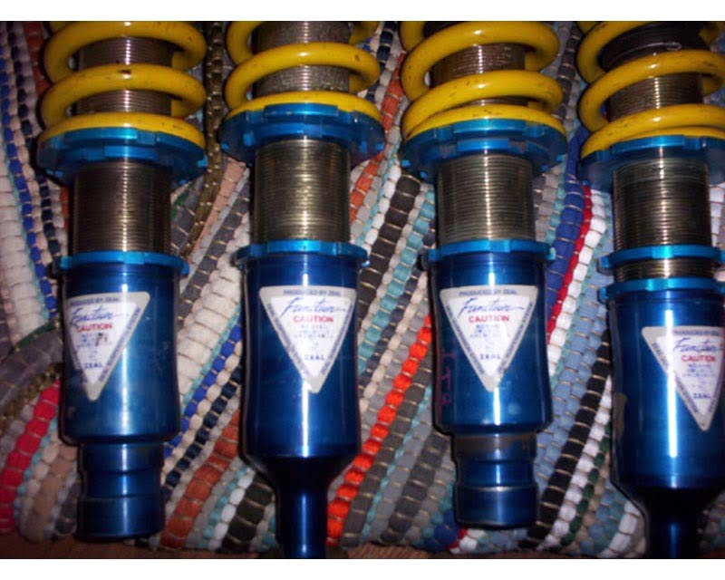Zeal Function-X Coilovers Toyota MR2 90-95